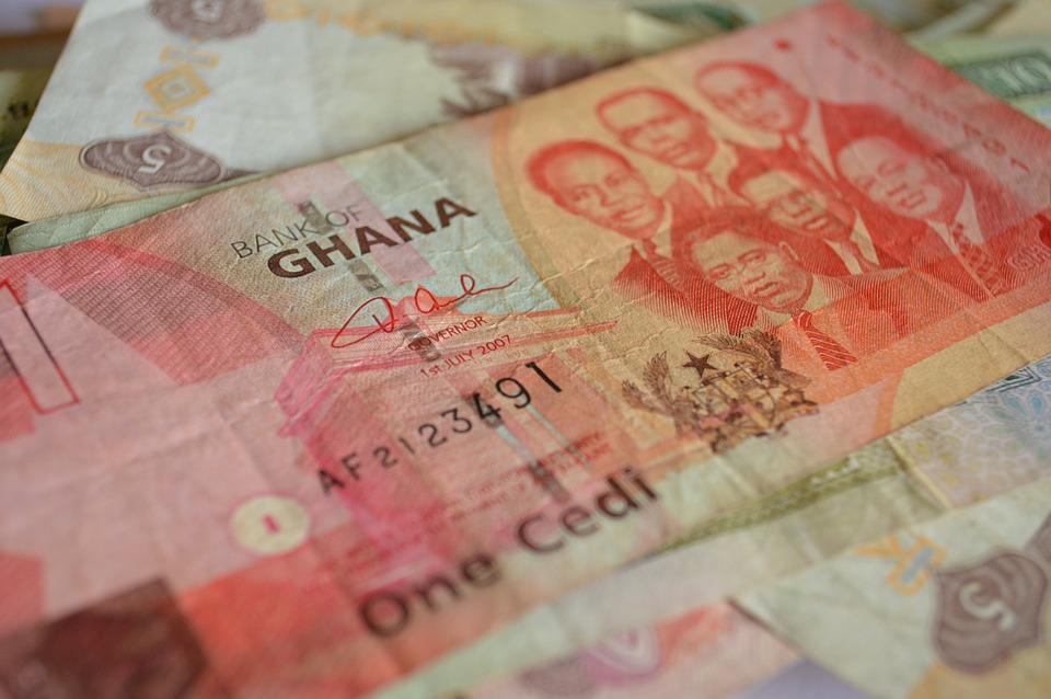 Ghanaian Cedi paper currency